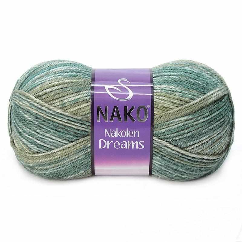 Пряжа Nako Nakolen Dreams Цвет.31444