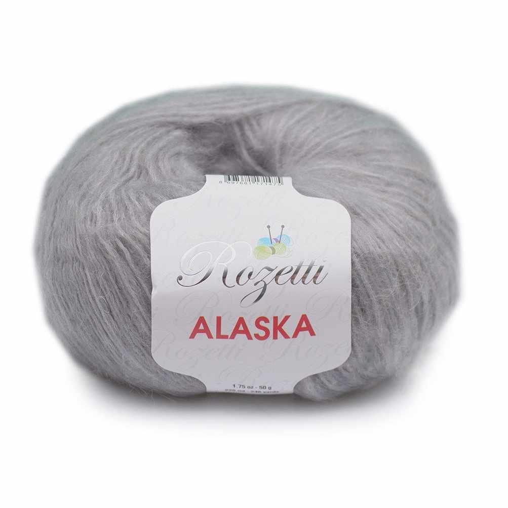 Пряжа Rozetti  Alaska Rozetti Цвет.231-22 Серый