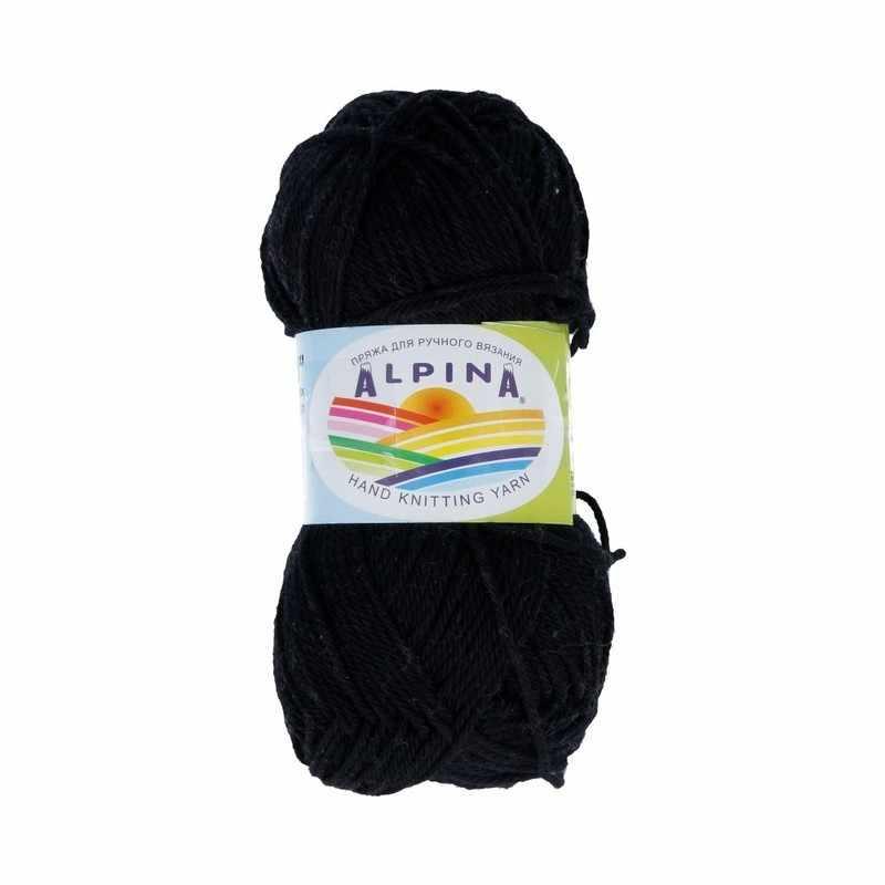 Пряжа Alpina ANABEL Цвет.001 Черный