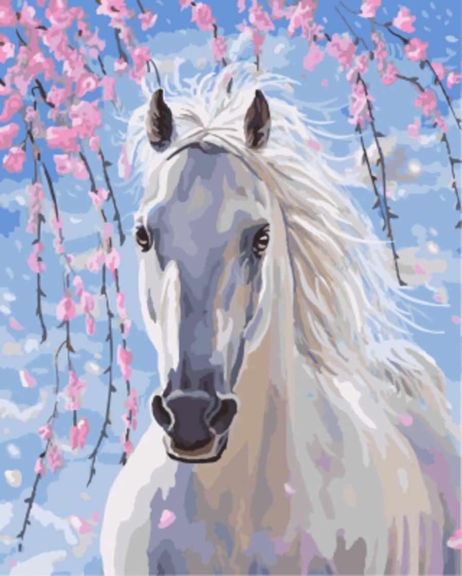 gx8528 «Белогривая лошадка»