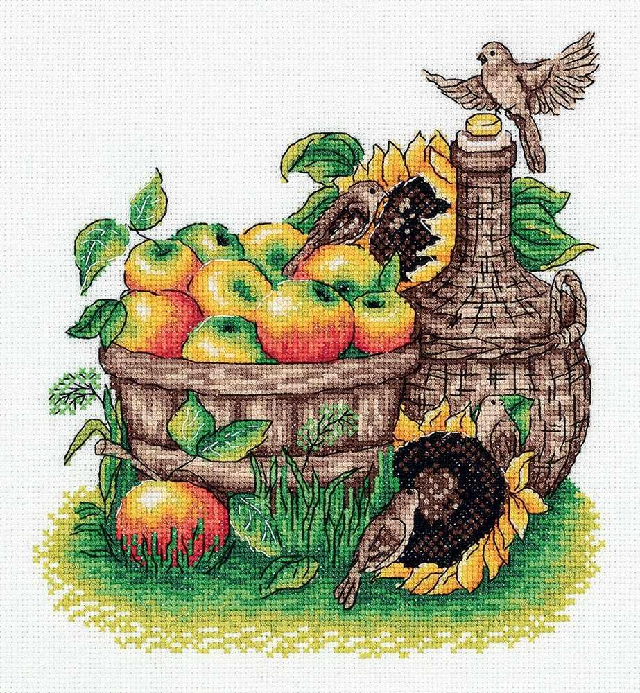 """8-344 """"Урожай яблок"""""""