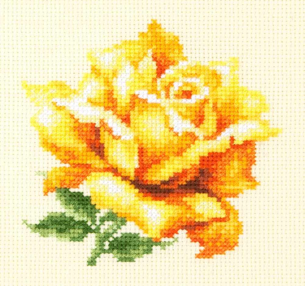 150-005 Желтая роза
