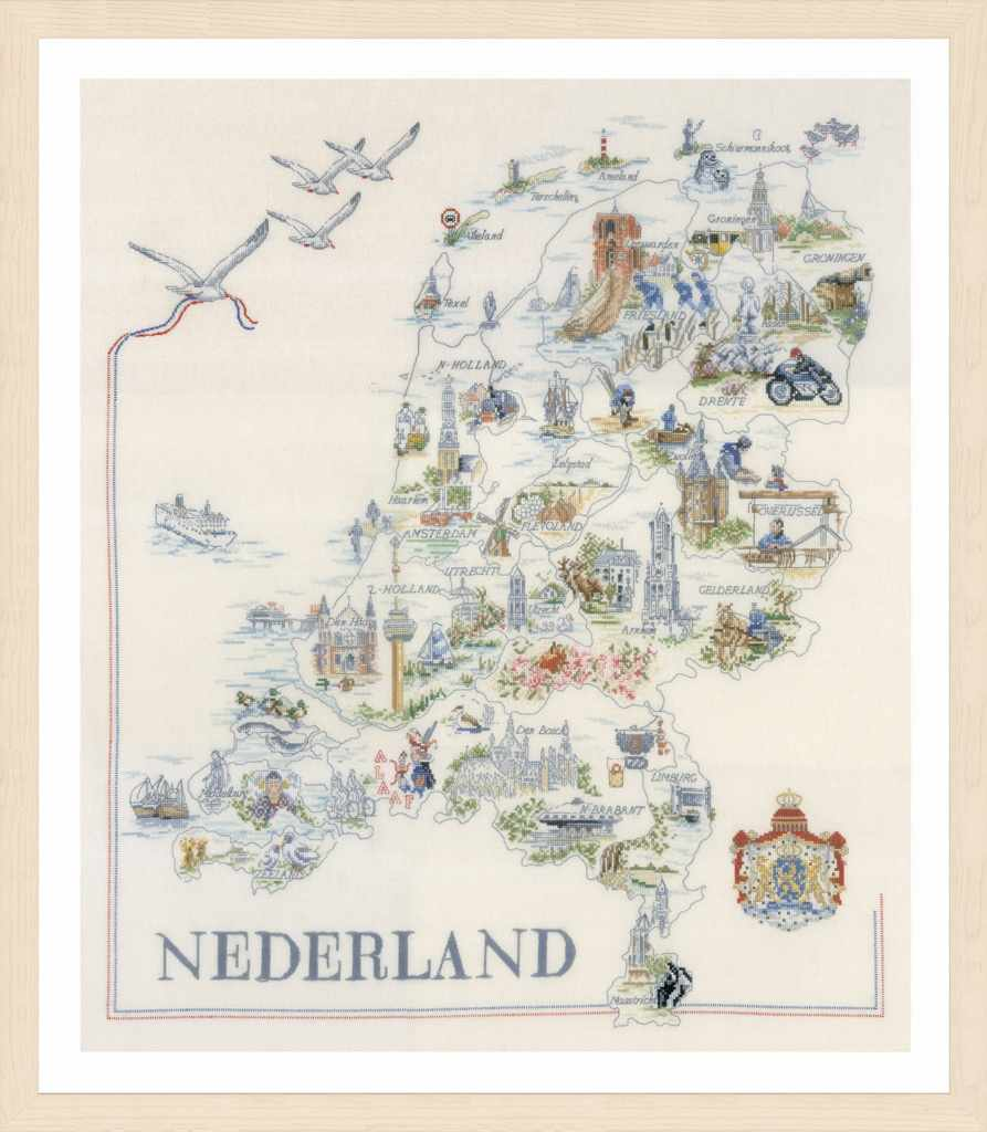 PN-0175289 Map of Holland