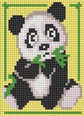 """Алмазная вышивка БСА5-021 """"Панда"""""""