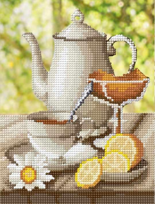 """Алмазная вышивка БСА4-047 """"Чайный сервиз"""""""
