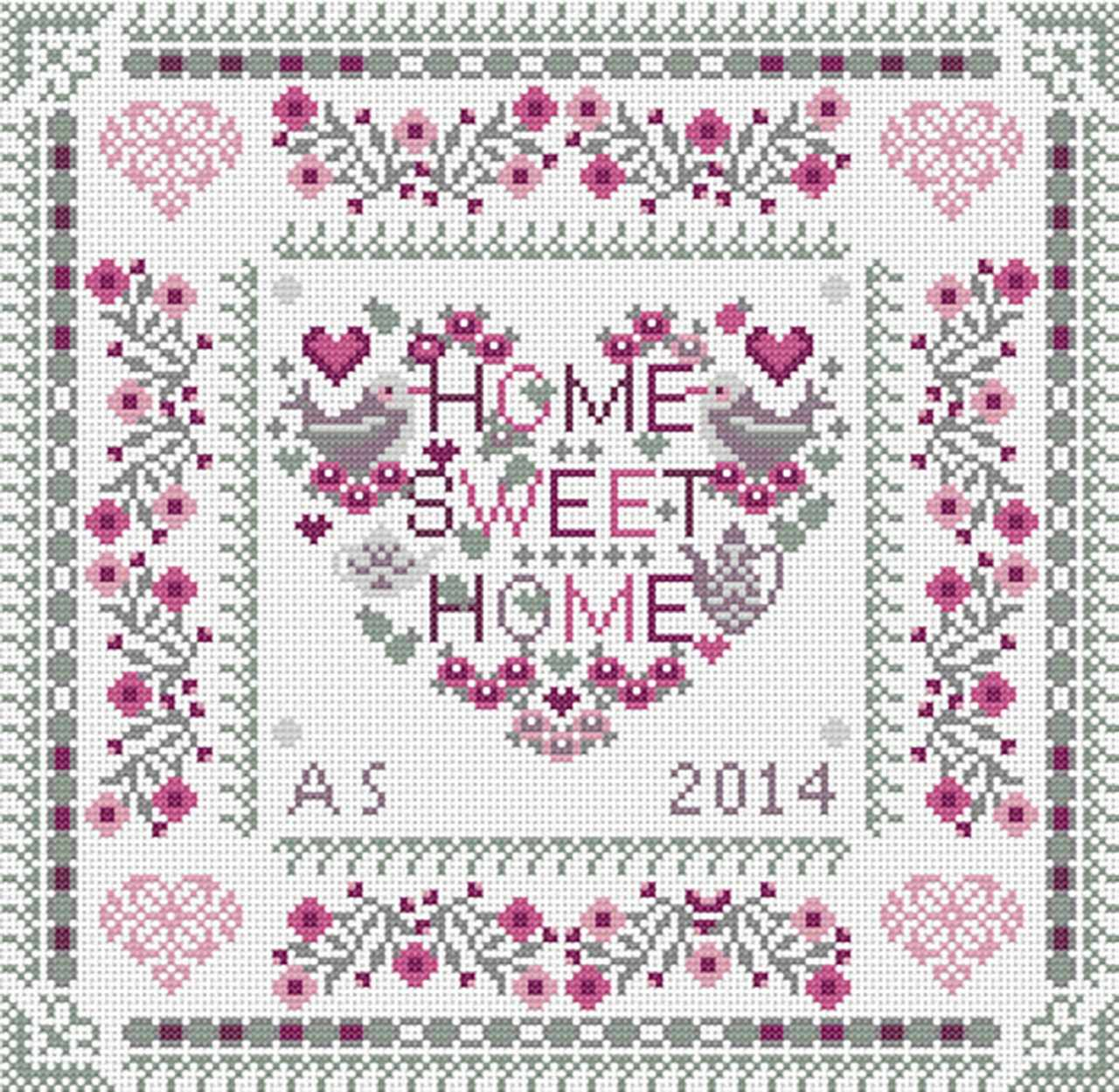 RR133 Home sweet heart home