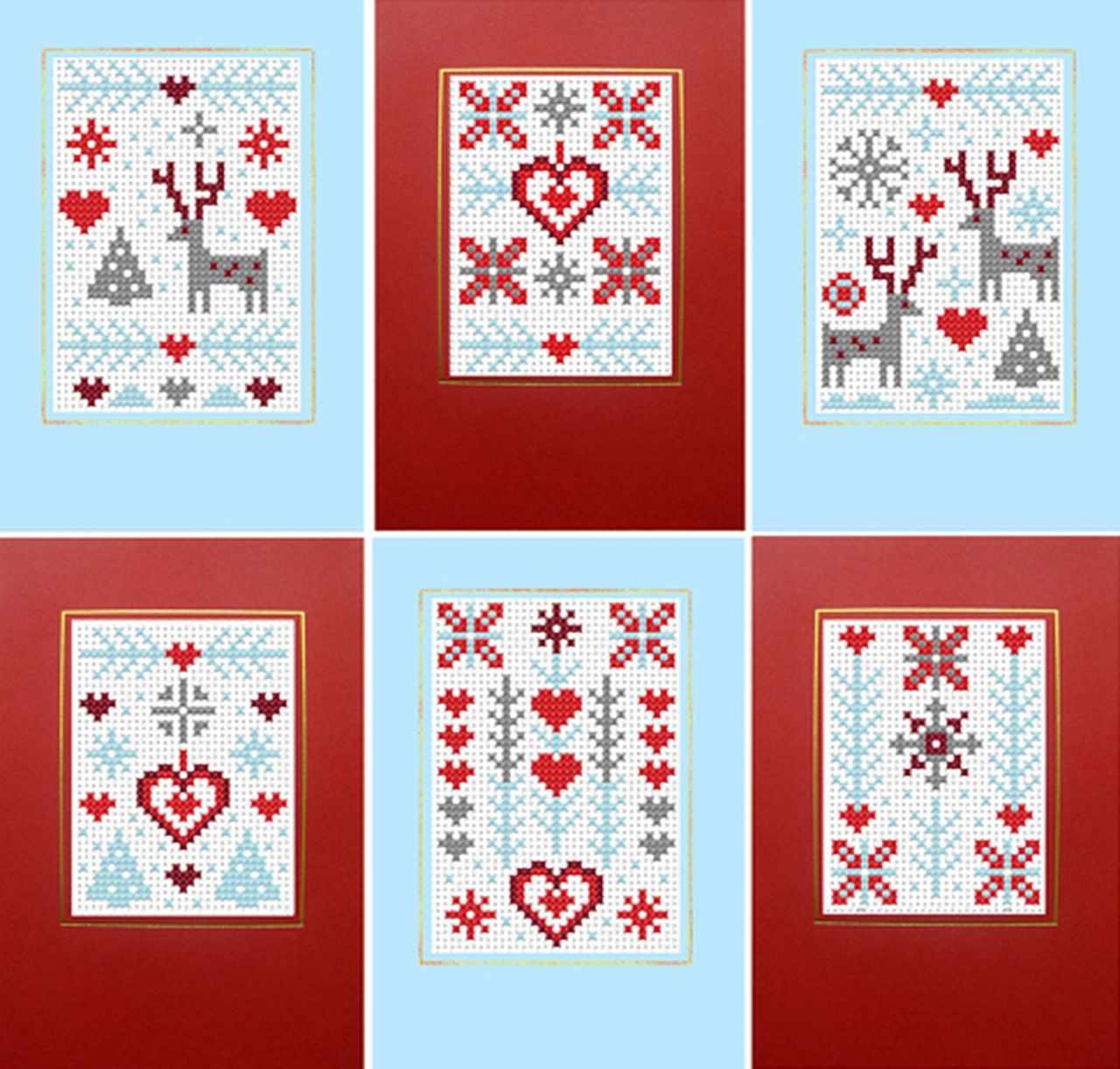 RR391 6 CARDS frosty