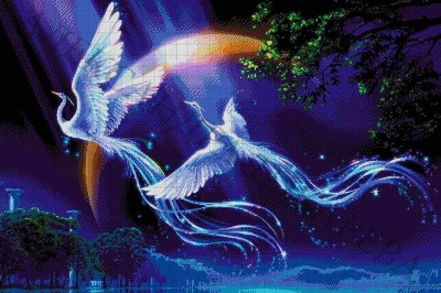 """49-3577-НС """"Сказочные птицы"""" - набор для вышивания"""