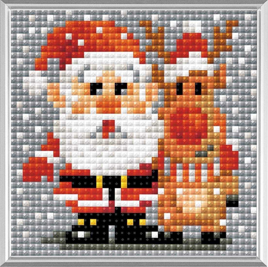 """Алмазная вышивка АМ0018 """"Санта-Клаус"""""""