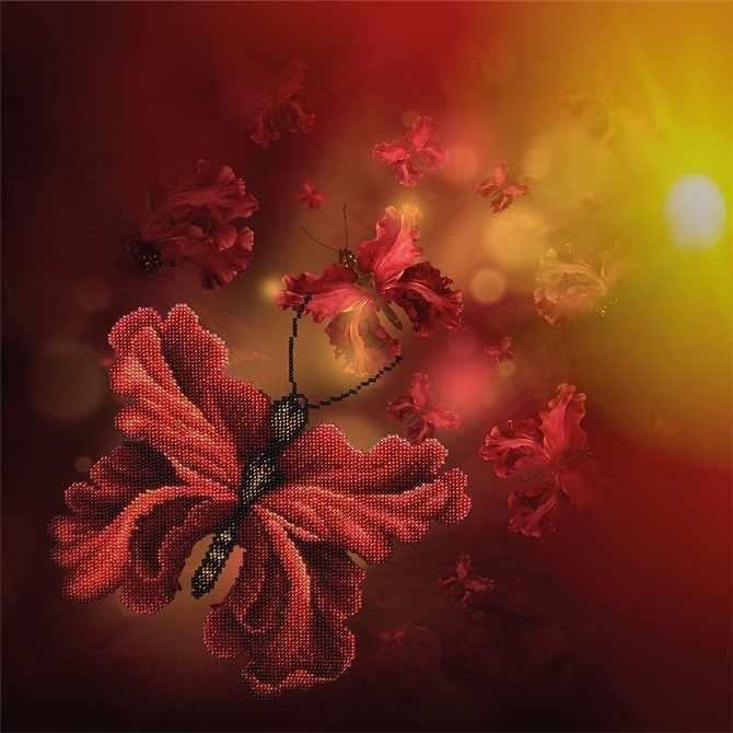 11014 Цветочные Бабочки