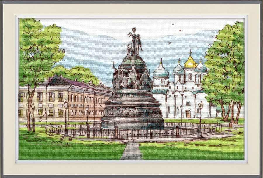 """1217 Памятник """"Тысячелетие России"""" (Овен)"""