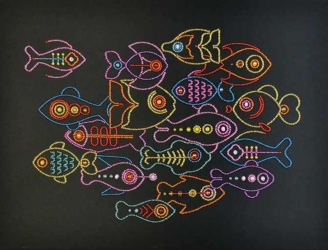 55014 Рыбы Линии