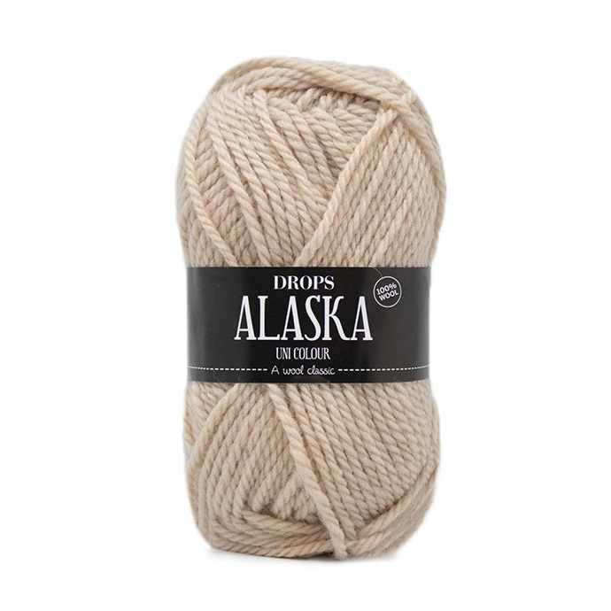 Пряжа DROPS Alaska Цвет.61 Wheat/пшеничный