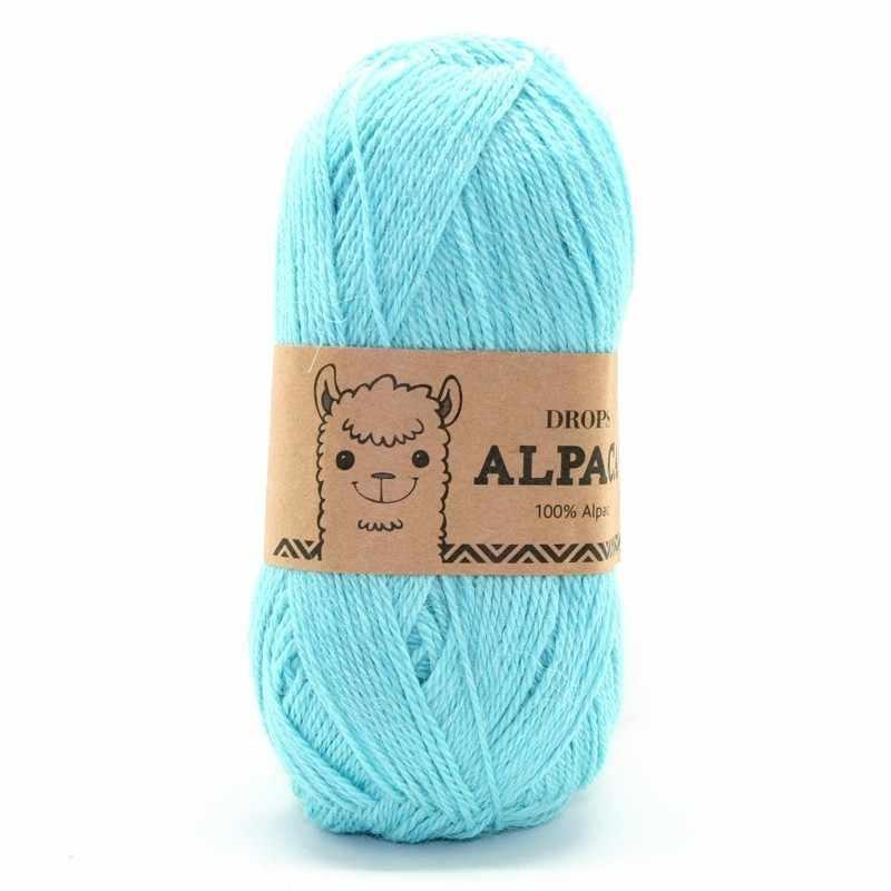 Пряжа DROPS Alpaca Цвет.2917 Turguoise/бирюза