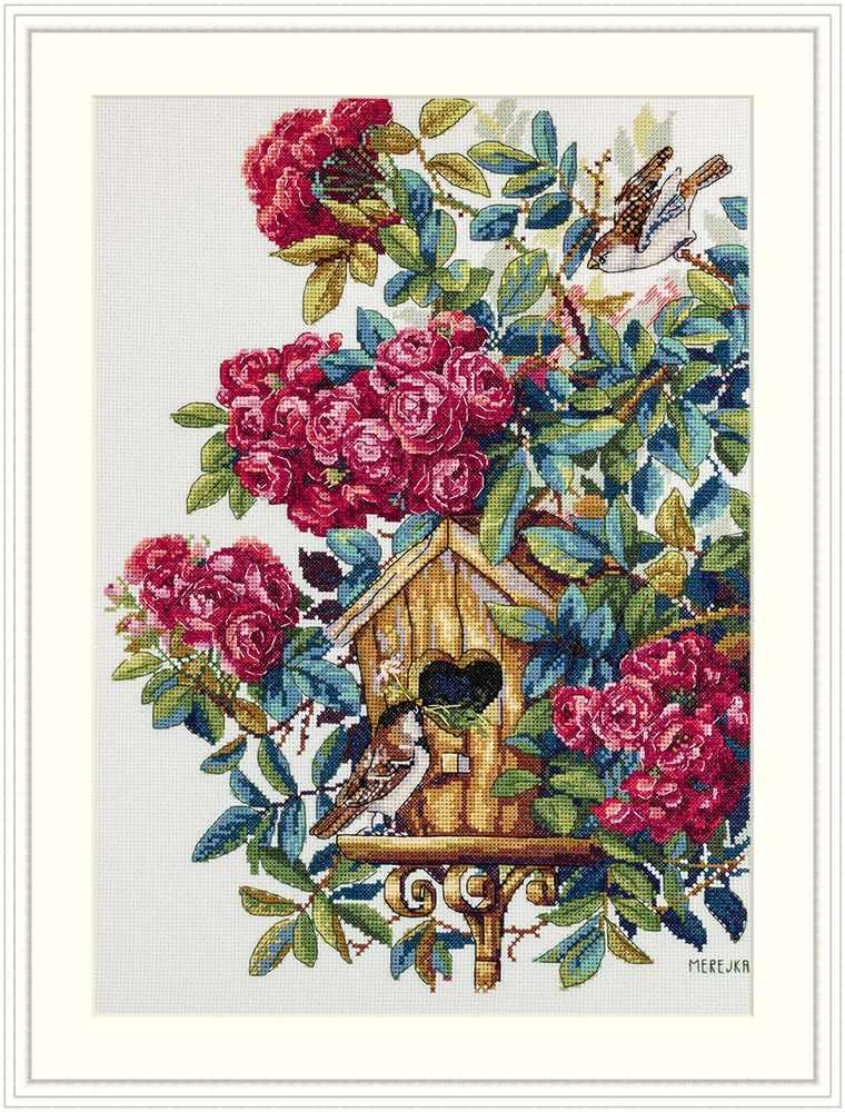 К-150 Розовый куст  (Мережка)