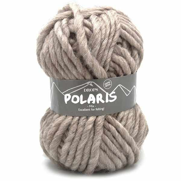 Пряжа DROPS Polaris Цвет.06m Light beige/св.беж