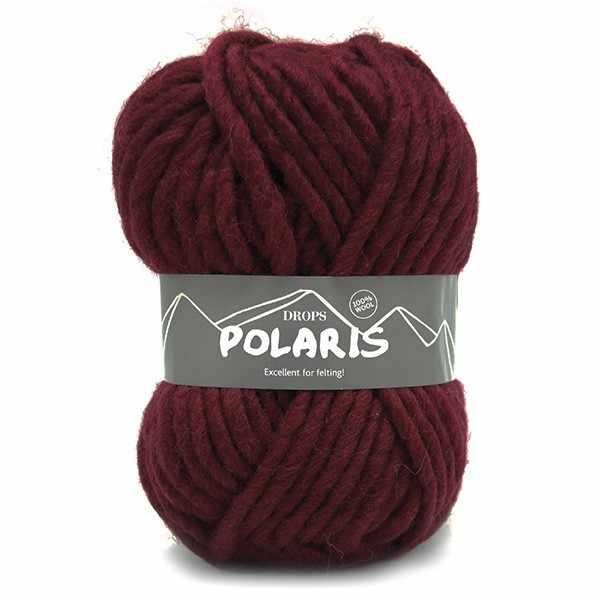 Пряжа DROPS Polaris Цвет.08 Red/красный