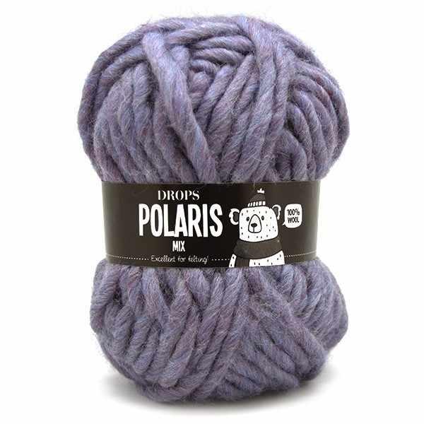 Пряжа DROPS Polaris Цвет.07m Purple/пурпурный