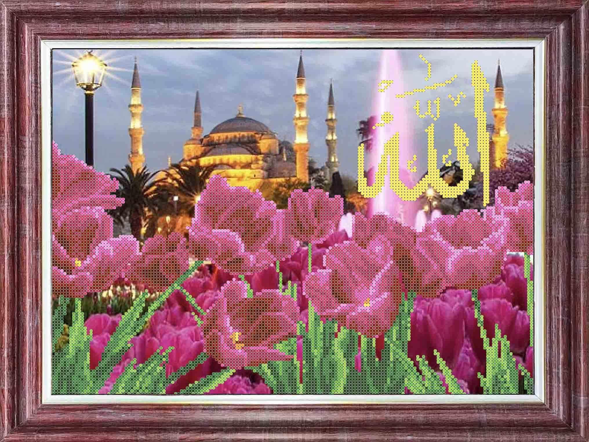КБП 3055 Тюльпаны у голубой Мечети - схема (Каролинка)