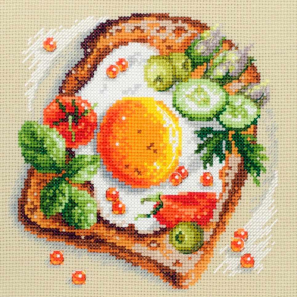 120-092 Тост с яичницей