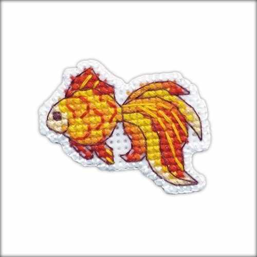 1225 Значок - рыбка (Овен)