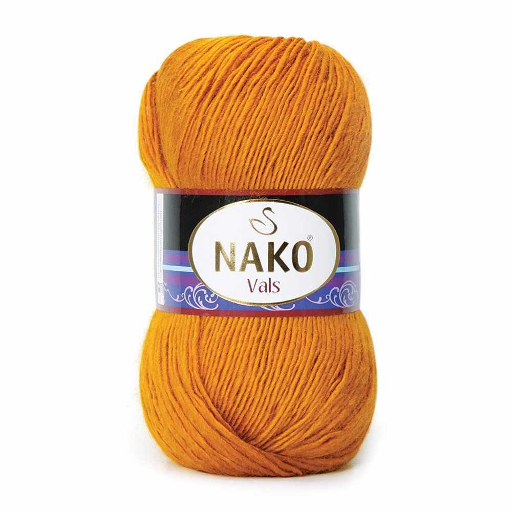 Пряжа Nako Vals Цвет.1043 Горчичный