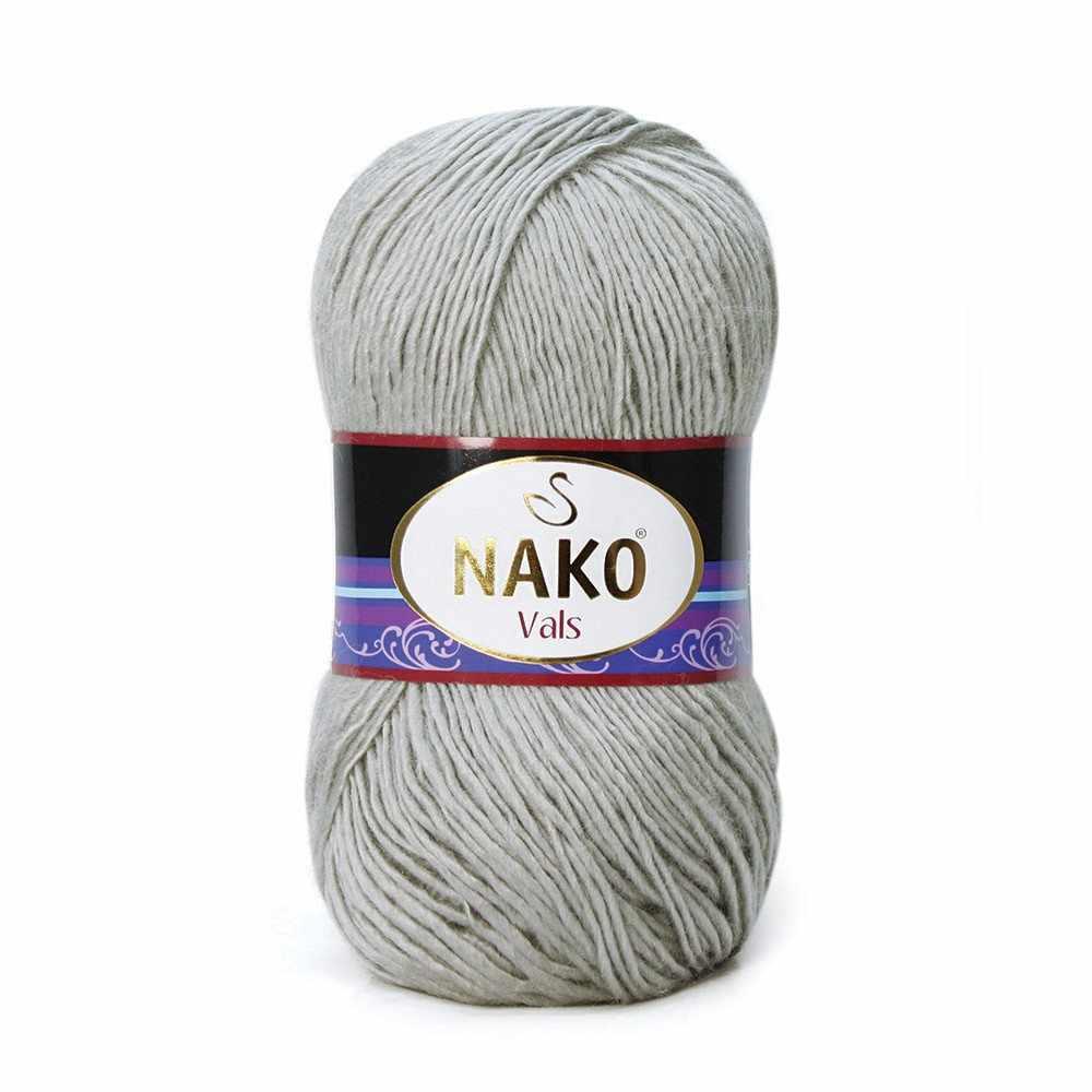Пряжа Nako Vals Цвет.130 Св.серый