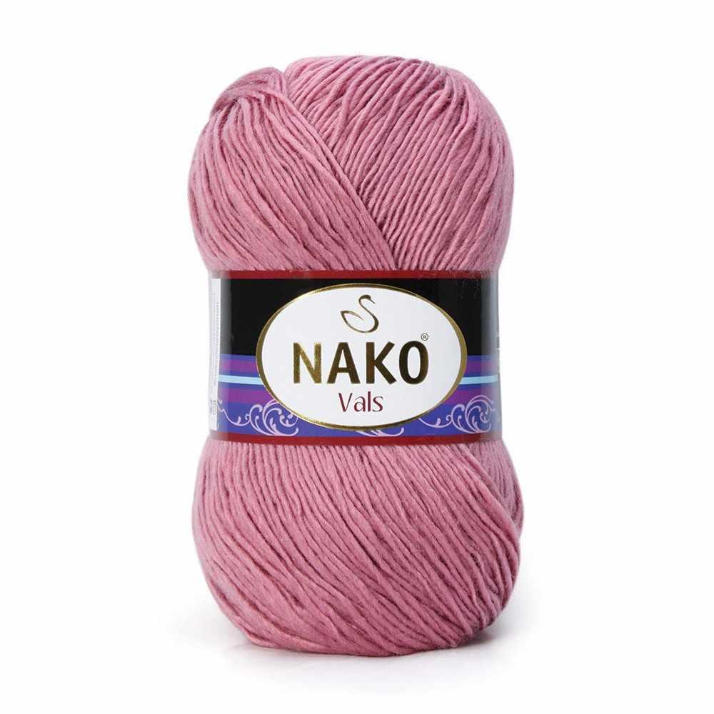Пряжа Nako Vals Цвет.275 Пыльная роза
