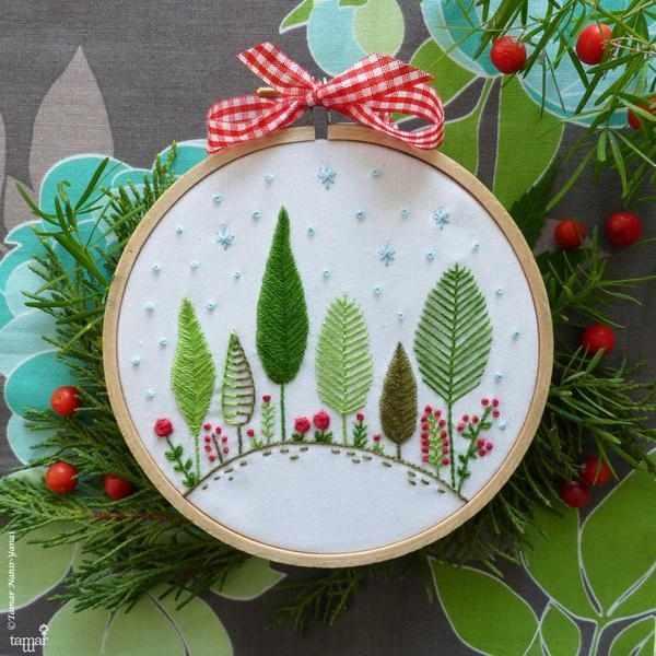 T-021 Christmas Forest (Рождественский лес)