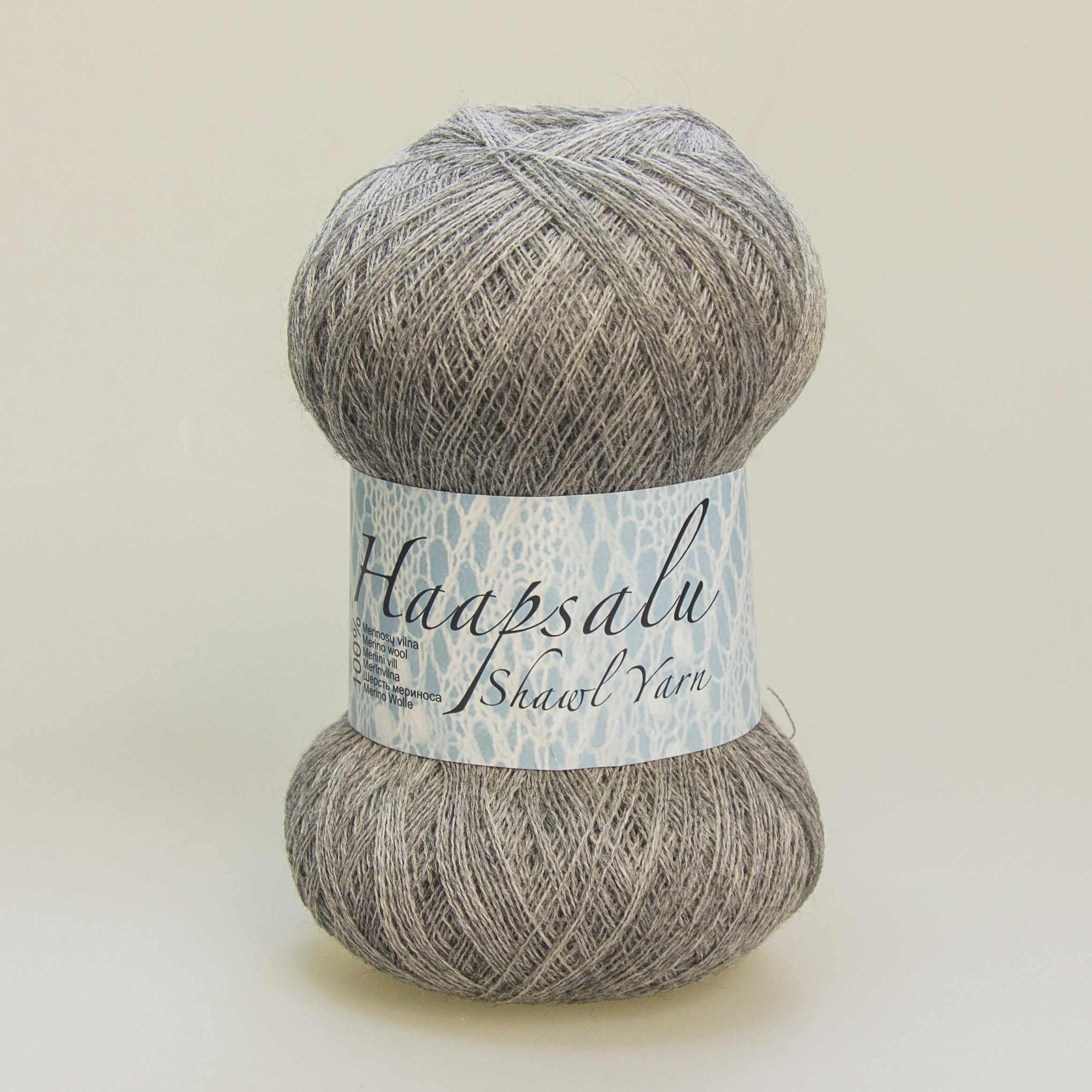 Пряжа Midara Haapsalu Цвет. 928 серый