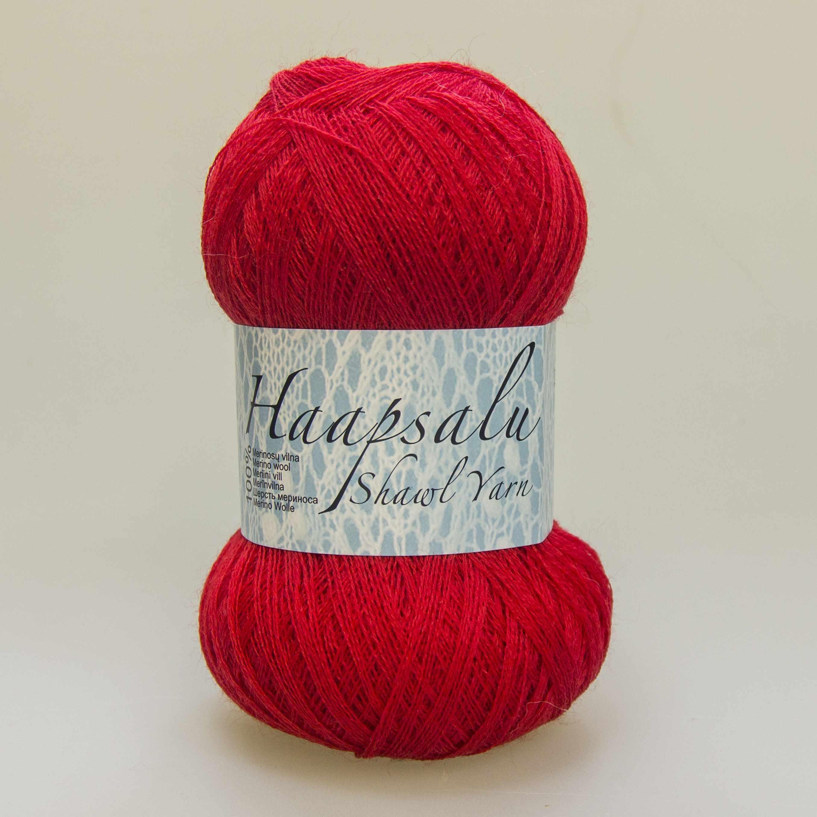 Пряжа Midara Haapsalu Цвет. 150 красный