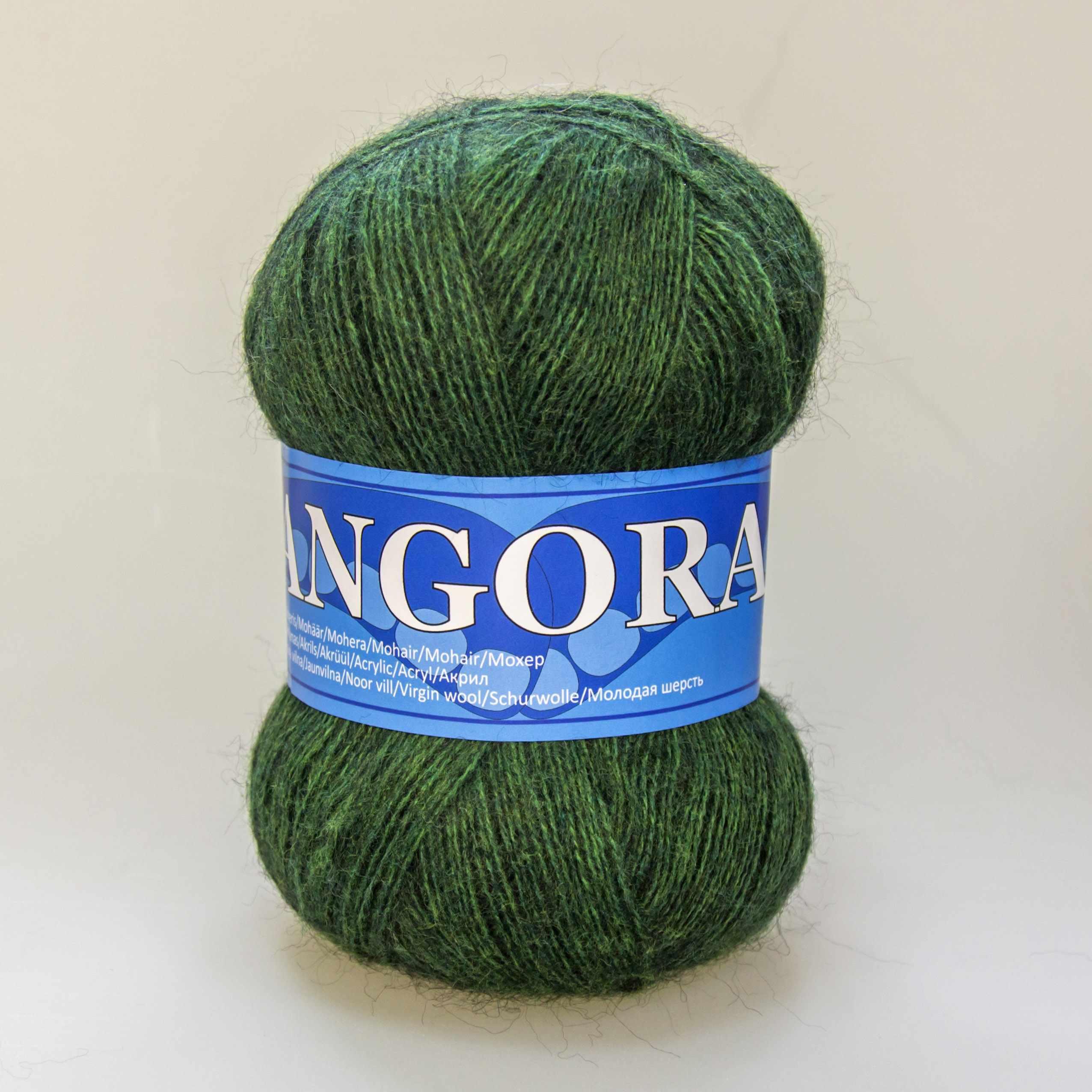 Пряжа Midara Angora 2 Цвет. 470 зеленый