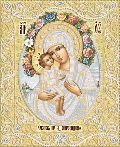 РИК-3-065 Жировицкая икона Божией Матери - схема (Марiчка)
