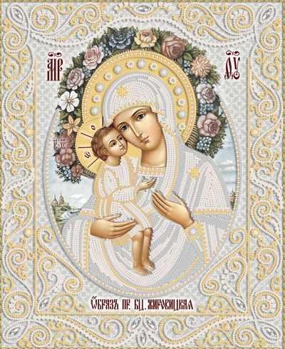 РИК-3-064 Жировицкая икона Божией Матери - схема (Марiчка)