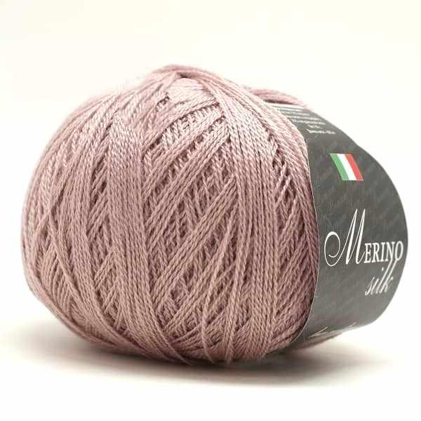 Пряжа Seam Merino Silk 50 Цвет.88 какао