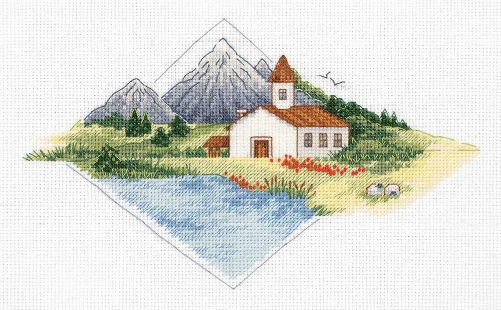 """8-361 """"Дом в горах"""""""