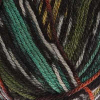Пряжа YarnArt Crazy Color Цвет.163 Жел.зел.террак.Меланж