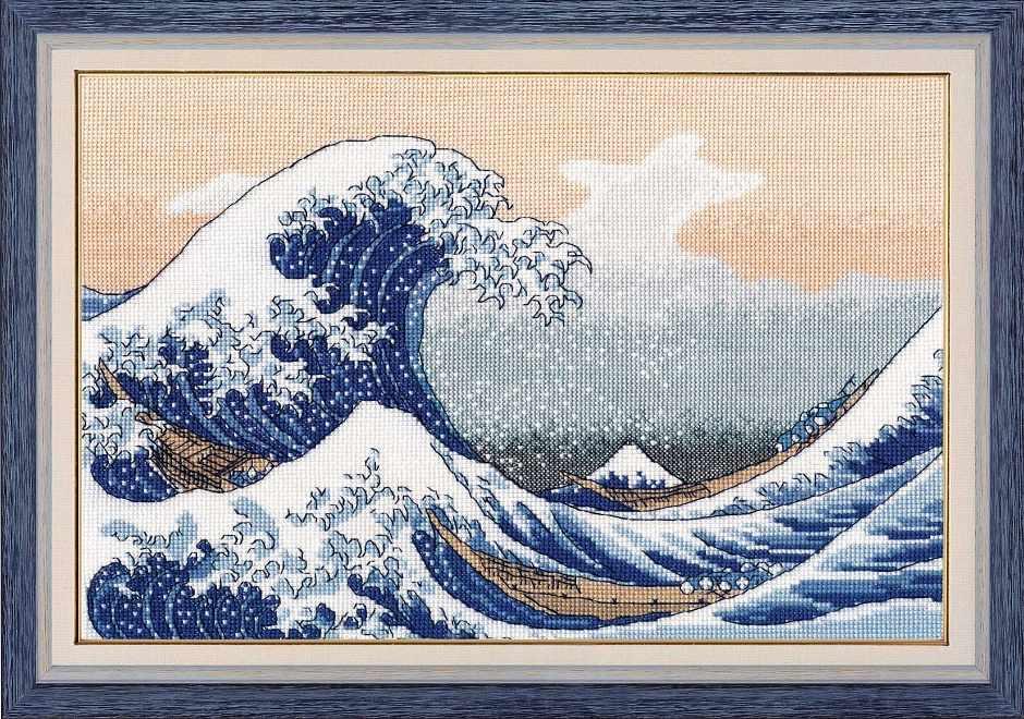 1255 Большая волна в Канагаве