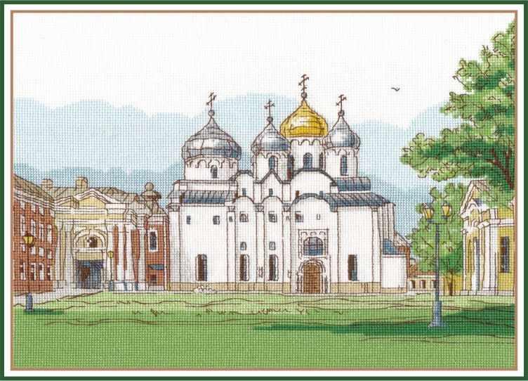 1219 Софийский собор. Великий Новгород