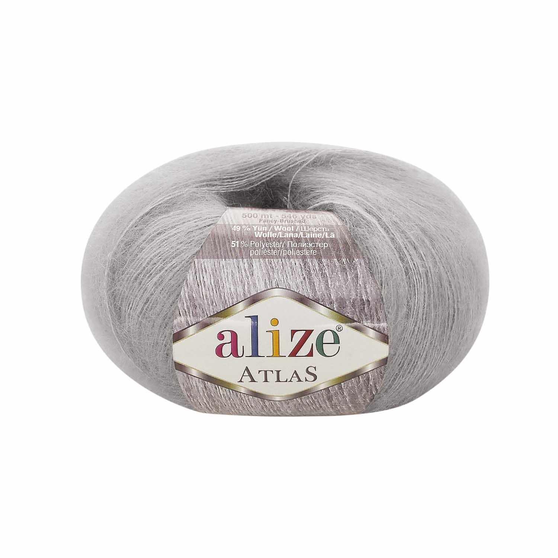 Пряжа Alize Atlas Цвет.200 св.серый
