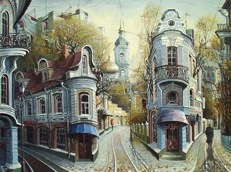 KK0012 Улочки Старой Москвы