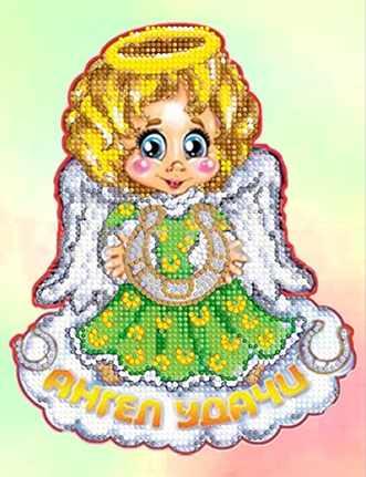 """Алмазная вышивка БСА4-061 """"Ангел удачи"""""""