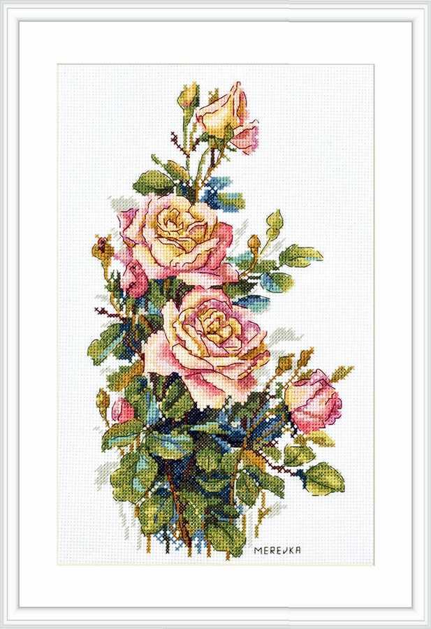 К-154 Yellow Roses (Мережка)