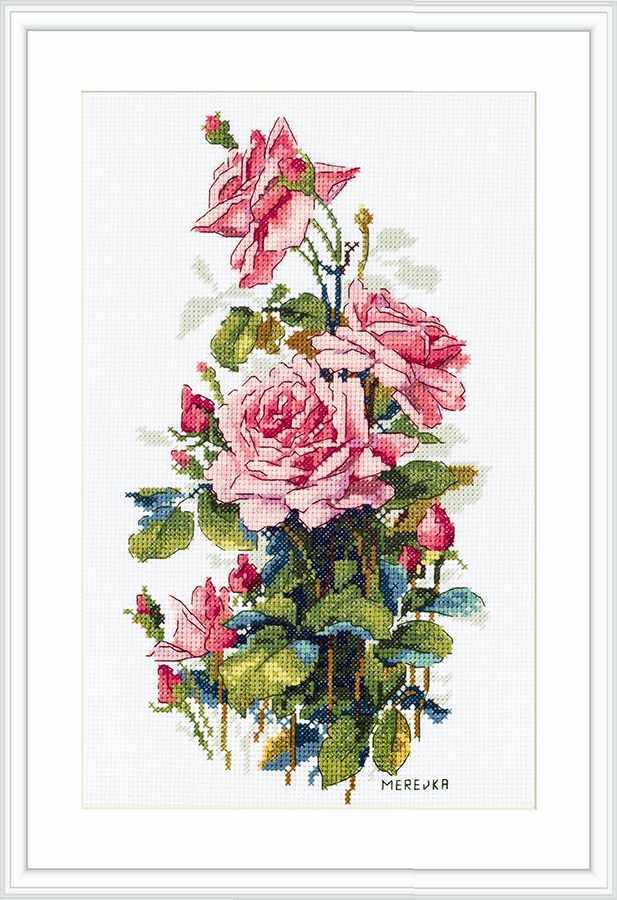 К-155 Pink Roses (Мережка)