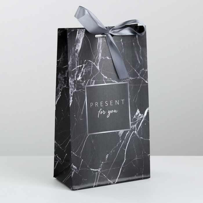 3747853 Пакет подарочный с лентой «Для тебя»