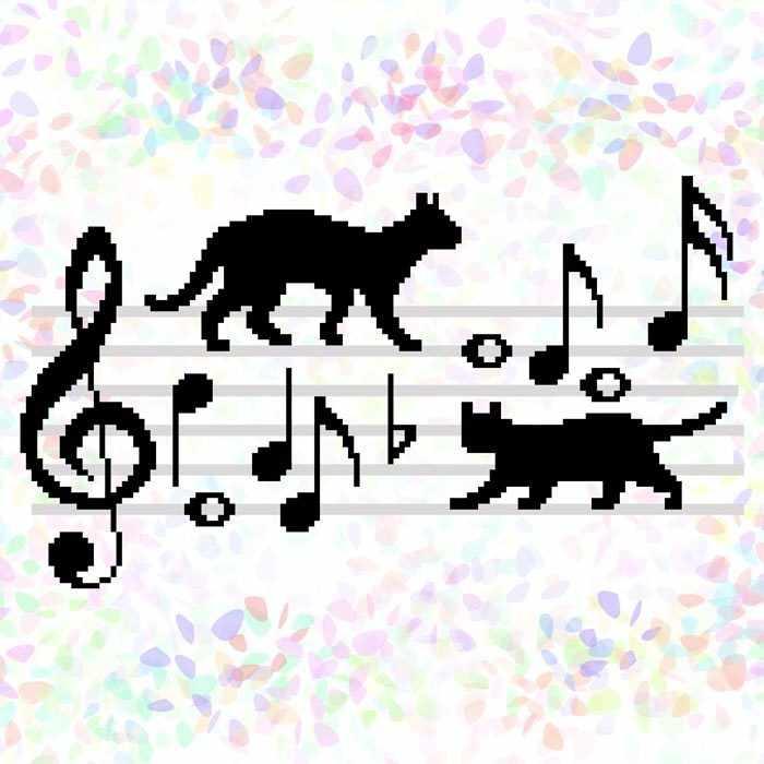 K350 Коты-музыканты