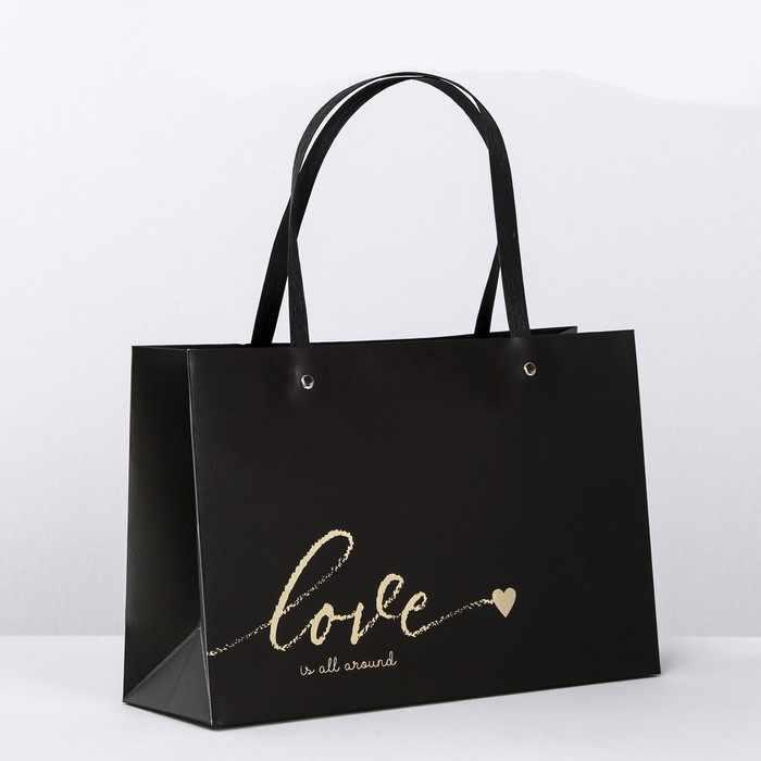 4131805 Пакет подарочный Love