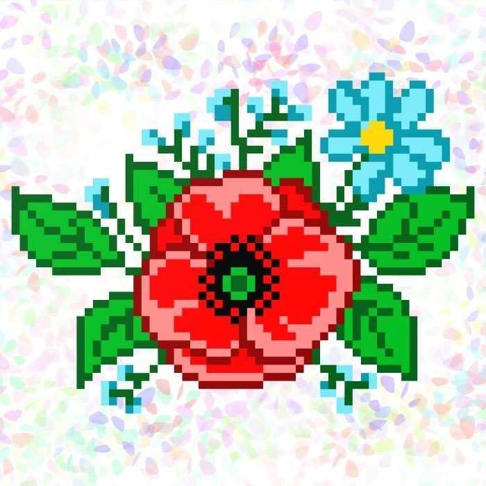 K126 Полевые цветы