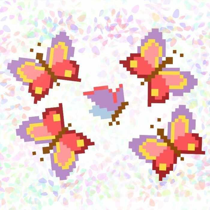 K121 Бабочки