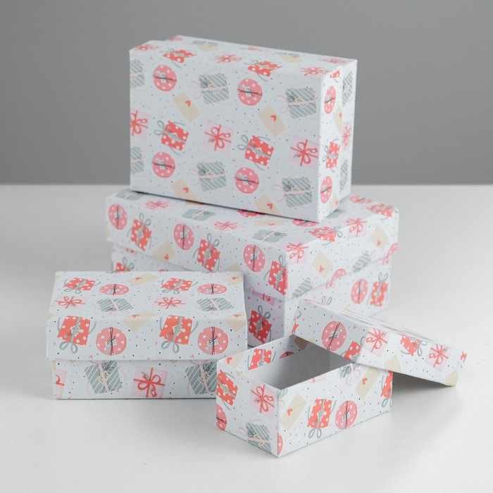 4543951 Набор коробок 4в1 «Подарочки»